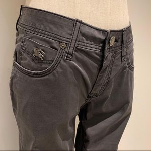 Burberry Bayswater Sateen Skinny Fit Jeans